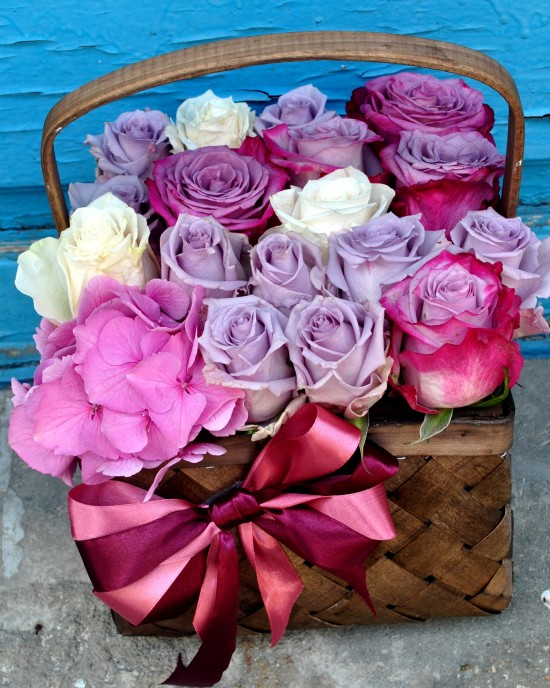 The Perfect Rose Basket