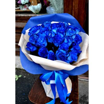 Buchet Trandafiri Blue Rose