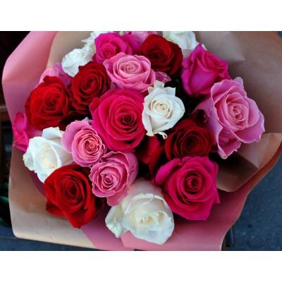 Buchet trandafiri Candies
