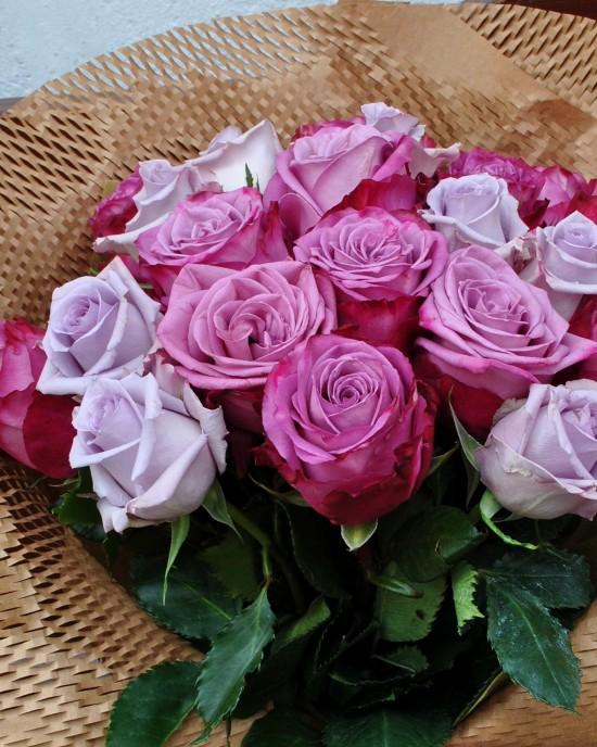 Buchet Trandafiri Deep Purple