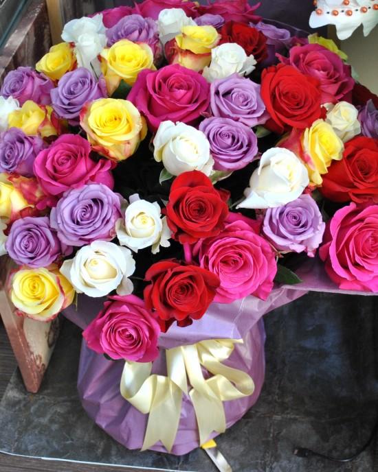 Buchet trandafiri Energique