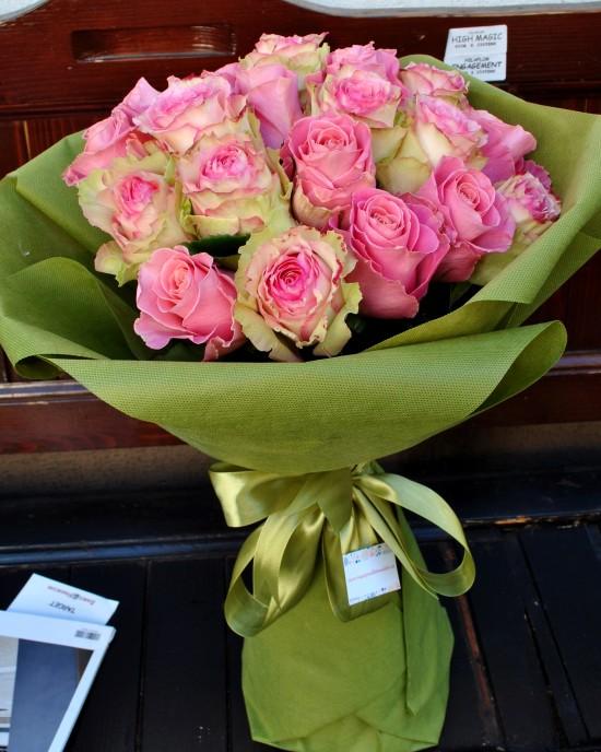 Buchet Trandafiri Pink Spirit
