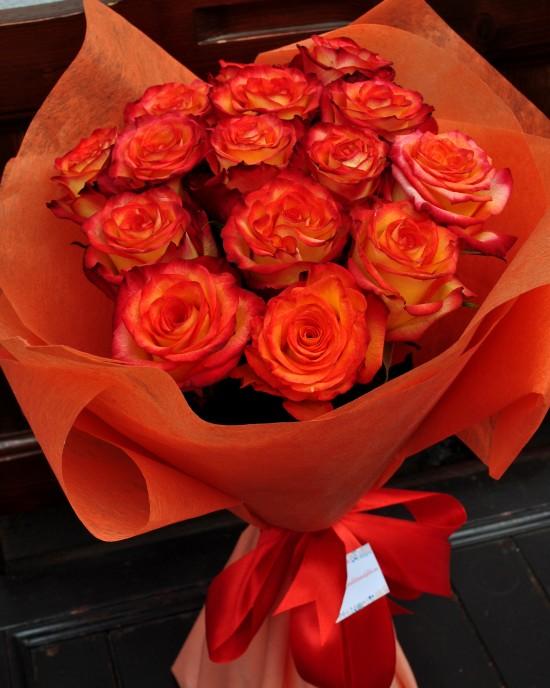 Buchet Trandafiri Fireball