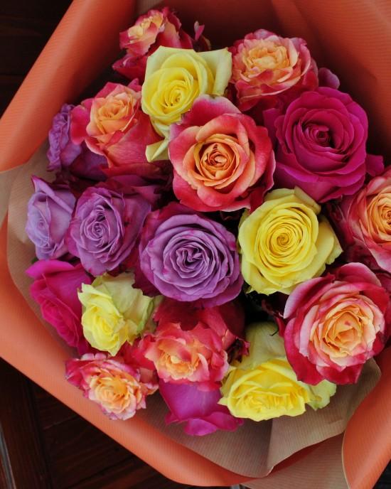 Buchet Trandafiri Glow
